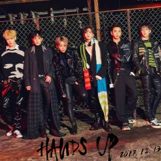 Ready Stock B.A.P 8th Single Album EGO Hands Up BAP