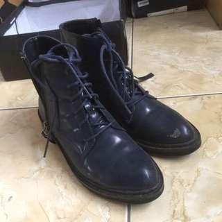 Boots Zalora Navy