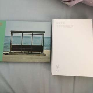 BTS and Got7 Albums