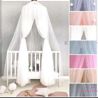 *SPECIAL SALE W FREE GIFT!*Dome Canopy Baby Kids Room Decor Home Decor