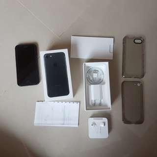 Iphone 7 ibox resmi 128GB black matte