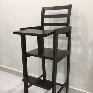 Antique Teak Wood Baby Chair