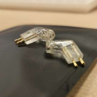 2pin to fitear converter (L-shaped)