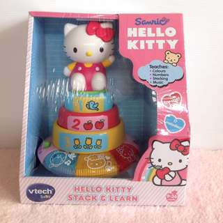 Vtech Hello Kitty Stack and Learn