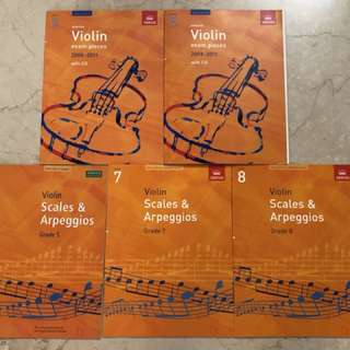 Violin Books