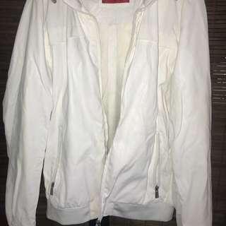 Zara Man Faux Leather Jacket