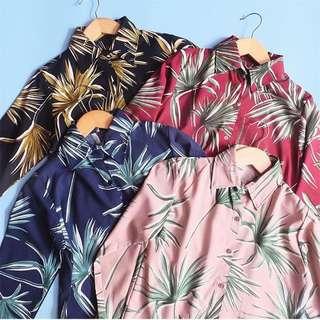 Summer tropical shirt