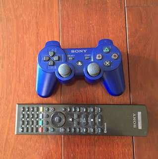 PS3 controller and remote control