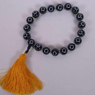 Very Rare Goat's-eye Agate Beads