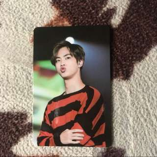 Limited BTS Japan Fanmeeting Vol 3  Jin Photocard