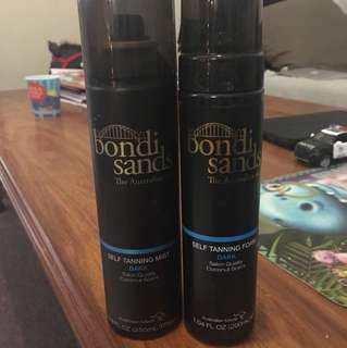 Bondi sands DARK self tanning mist and foam