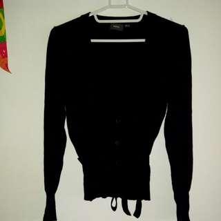 MEXX 黑色腰身外套