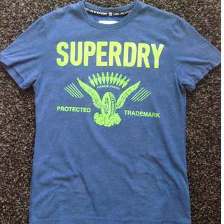 superdry tee (ori from tangs)
