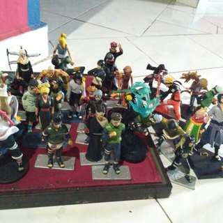 Action figure naruto dkk