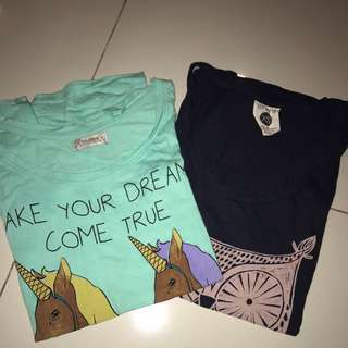Cartoon Tshirts (pull&bear, cotton on) each