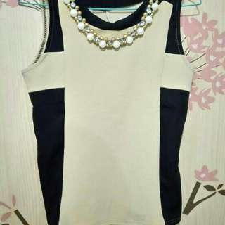Blouse Import with kalung
