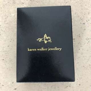 Karen Walker flower necklace