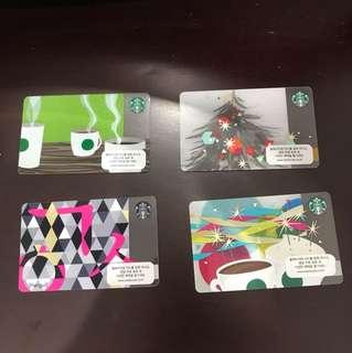 Starbucks Card from Korea