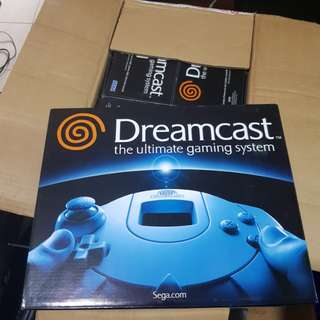 Nos Sega dreamcast game console ntsc-us