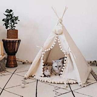 🇺🇸 New arrivals 新款寵物印地安帳篷 裝飾 民族帳篷