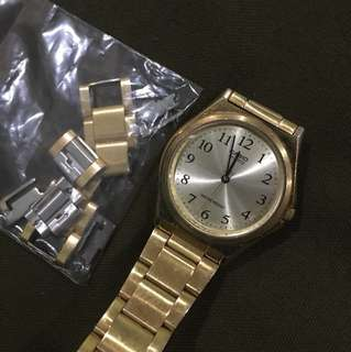 Authentic Casio MTP-1130 Gold Watch