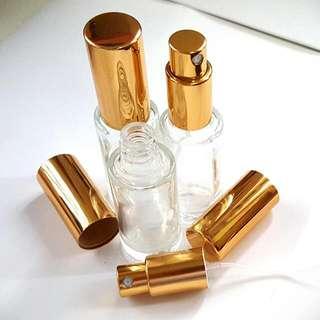 15ml Transparent Glass Spray Bottle