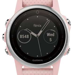 Authentic Garmin Fenix 5s Pink Meringue
