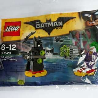 Lego the Batman Movie The Joker Battle Training 30523