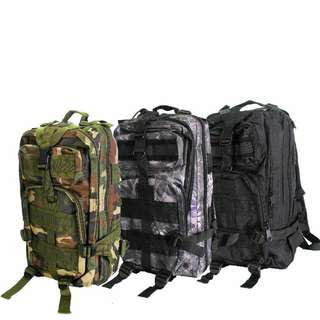 Camouflage Camping Travel Backpack