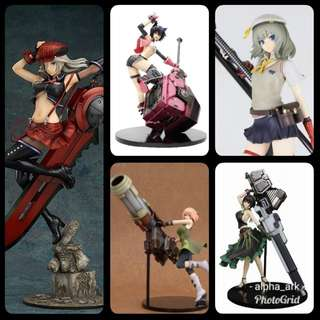 Alisa , Sakuya , Nana , Erina , Daida - God Eater