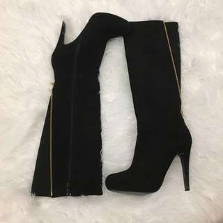 Aldo Paleven Suede Tall Boots