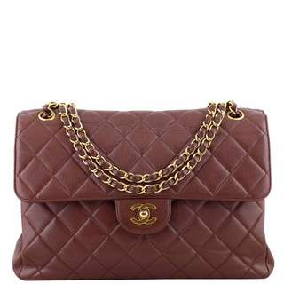 Authentic Chanel Classic Double Sided Jumbo Flap