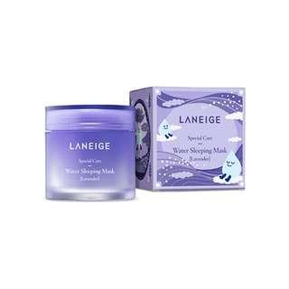 BN Laneige Water Sleeping Mask Lavender