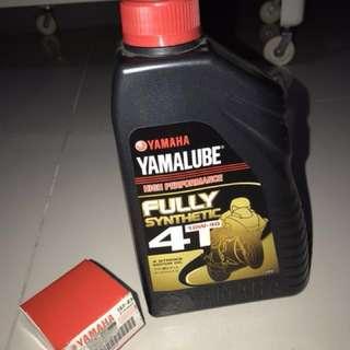 Yamalube EO & Oil Filter