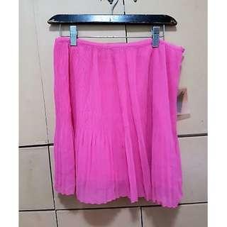 Forever 21 Pink Ruffle Skirt