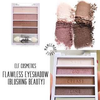 BN ELF Cosmetics Flawless Eyeshadow Blushing Beauty