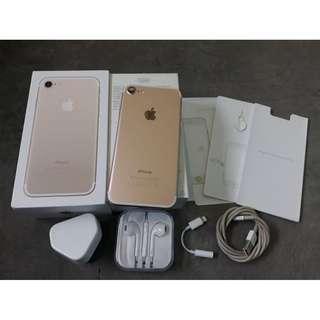 iPhone 7 128GB Gold mulusss banget