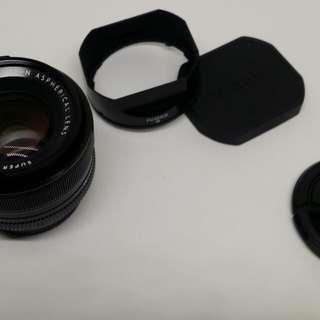 Fujifilm xf 35mm f1.4 盒單齊全 富士