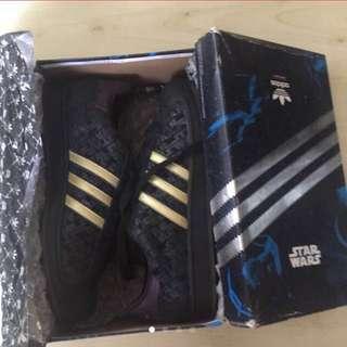 Adidas limited edition Star Wars Superstar II size 10.5 US