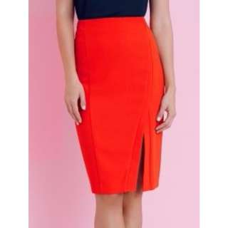 Red Pencil Skirt sheike
