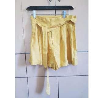 Forever 21 Mustard yellow skirt