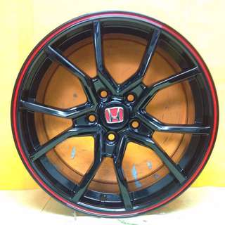 17 inch SPORT RIM HONDA TYPE-R RACING WHEELS