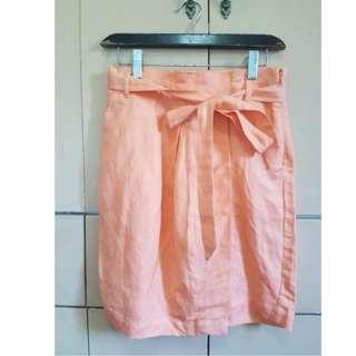 Forever 21 Orange skirt with pockets