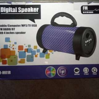 Bluetooth Speaker (Big) (Name : CH - MO1R)