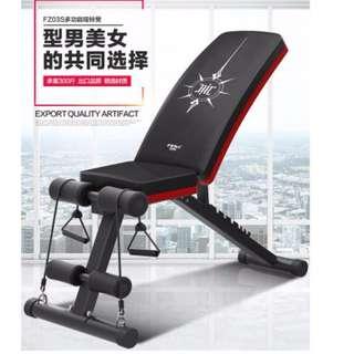 ( Pre order )  Dumbbell stool sit-ups Board abdominal machine Abdominal Board multifunctional folding fitness