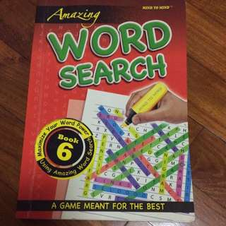 Amazing WORD SEARCH (Book 6)