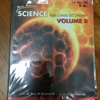 Normal Sec Science Textbooks