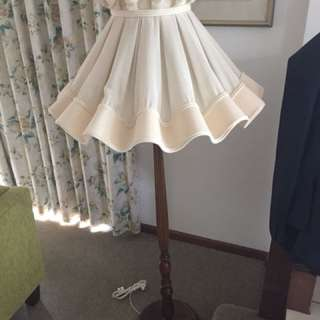 Vintage retro antique standing lamp