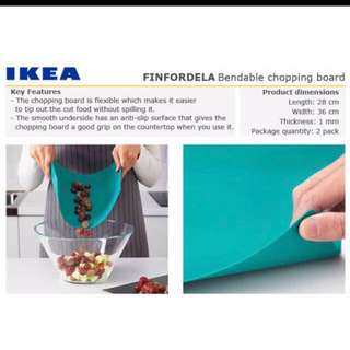IKEA FINFORDELA Bendable Chopping Board Set of 2