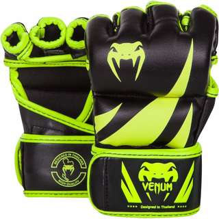 Authentic Venum Challenger MMA Gloves (Neo Yellow/Black)